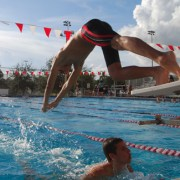 CCHS Swimming Falls Short Against St. Thomas