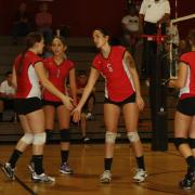 Varsity Girls Volleyball: Cowboys Win Big On Senior Night
