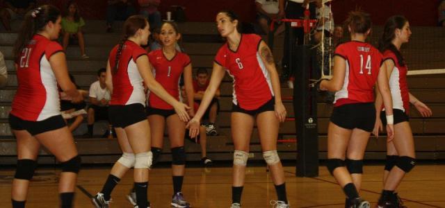 Varsity Girls Volleyball: Cowboys Win Big On Senior Night