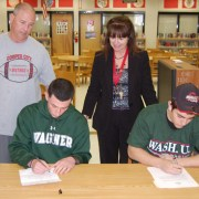 Four CCHS Athletes Celebrate National Signing Day