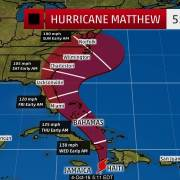 Hurricane Matthew sets its sights on Florida