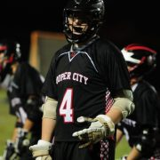 Boys varsity lacrosse: Team unsuccessful in stopping the Maverick stampede