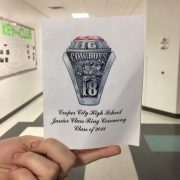 Class of 2018 Ring Ceremony Set For March 22