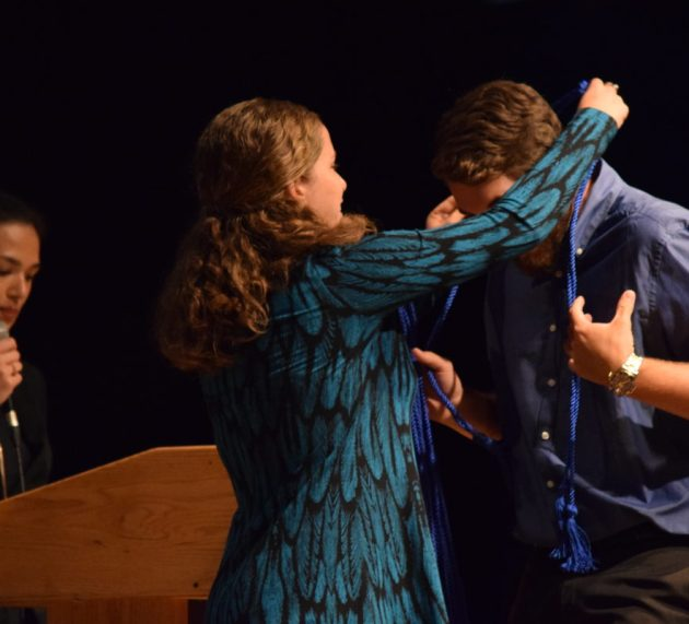 National Honor Society Inducts 104 New Members
