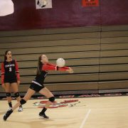 Girls Varsity Volleyball: The Lady Cowboys defeat the Mustangs