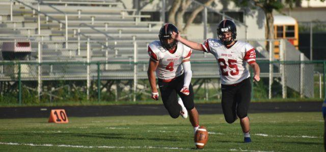 Varsity Football: CCHS faces off against Oxbridge Academy