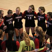 Volleyball team wins District Championship over Nova