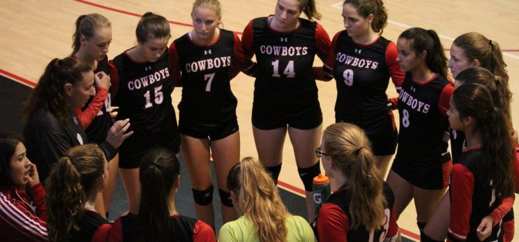 Girls varsity volleyball: Lady Cowboys take home another win