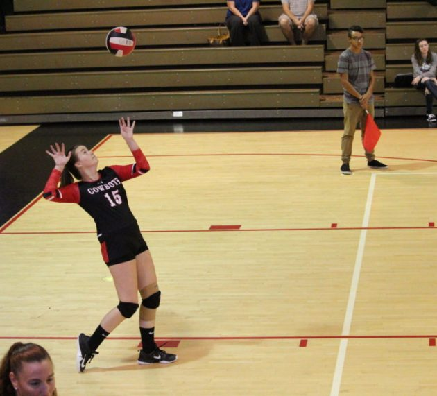 Moore Wants More: Volleyball player sets her sights on achieving ambitious goals