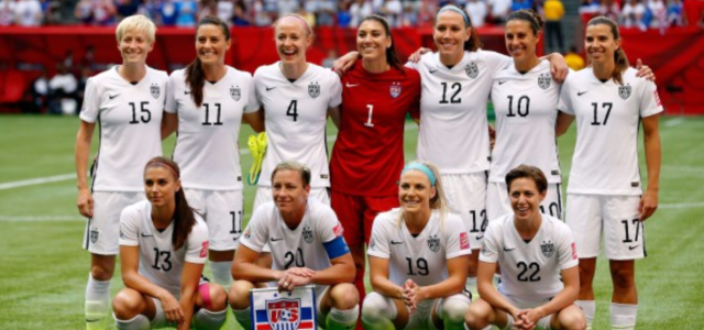 Should professional women athletes be paid less than men?