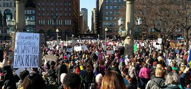 Annual women's march returns globally