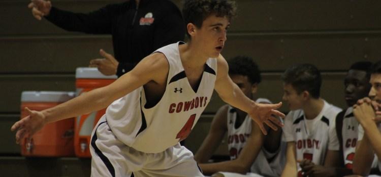 Boys varsity basketball: Cowboys defeat Posnack