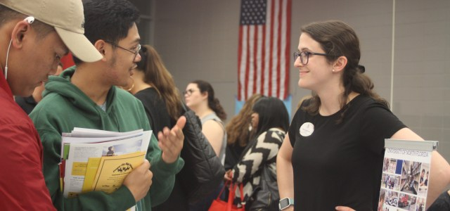 College fair attracts over 70 post-secondary schools