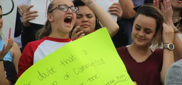 #NeverAgain: Cooper City students take a stand by walking out