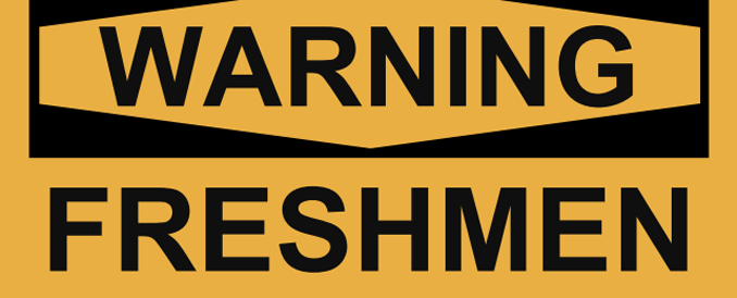 Freshmen or fresh meat: Teasing ninth graders is pointless, but it isn't a big deal either