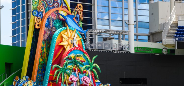 Miami Marlins: Home run sculpture finds a new home base