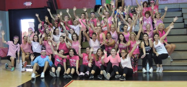 Fighting breast cancer one beat at a time: Zumba for a cause fundraiser is a success