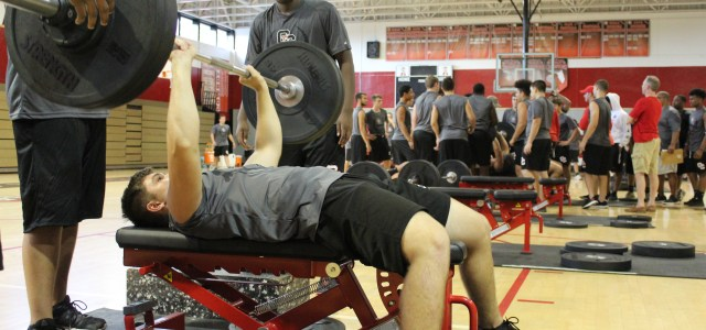"Lifting for greatness: Cooper City High Cowboys' football team hosts ""lift-a-thon"" fundraiser"