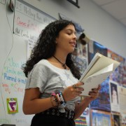 Peace, pizza and poetry: Poetry Club attracts new poets through their open mic event