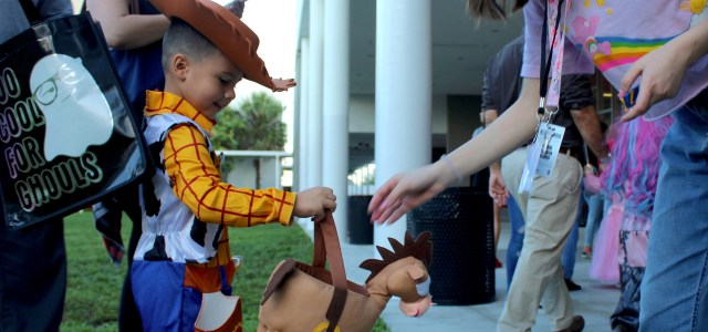 "A ""spook-tacular"" Storybook Parade: The Littlest Cowboys go trick-or-treating"