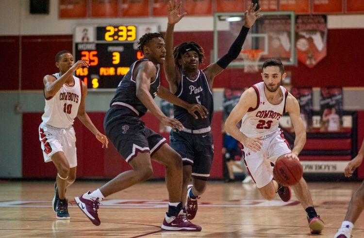 Varsity boys' basketball: Cowboys face off against Pembroke Pines Charter