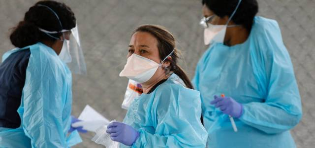 Lack of essential supplies: The shortage of protective equipment is risking the lives of healthcare workers worldwide