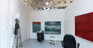 Corinne Wolcoski's studio