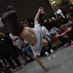 Breakdancer at W2 Opening