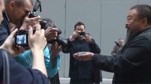 Ai Weiwei. Photos courtesy of DOXA
