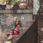 These children represent just a fraction of the 70,000 people in favela Rocinha.