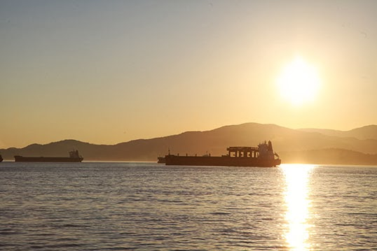Burrard Inlet is popular for all kinds of boats, especially tankers, which have increased in numbers over the years. | Photo by Jan Hilario