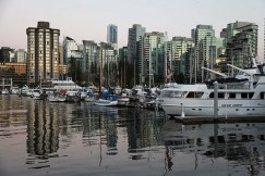 Boats also make a great home for some in Coal Harbour. | Photo by Jan Hilario