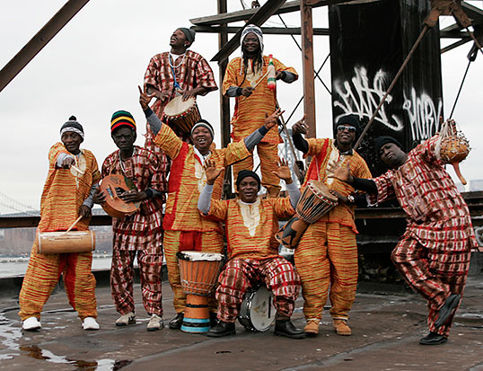 Sierra Leone's Refugee All Stars. | Photo courtesy of Sierra Leone's Refugee All Stars