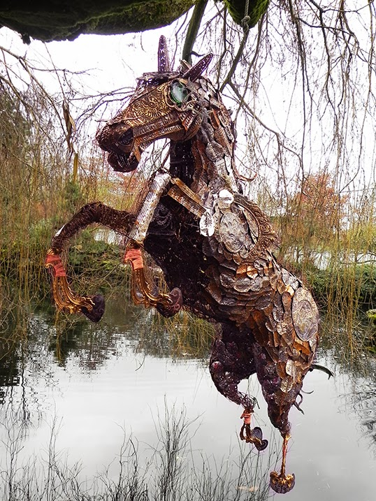 The Horse Sculpture will feature in New Year's celebrations | Photo courtesy of Sun Yat Sen Garden