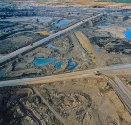 Photo courtesy of Indigenous Environmental Network | The Albertan tar sands.