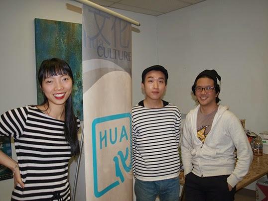 Claudia Li, Bard Suen, and Kevin Huang (right).|by Simon Yee