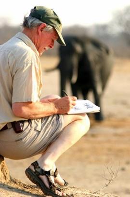 Chris McClelland in Zimbabwe | Photo courtesy of Chris McClelland