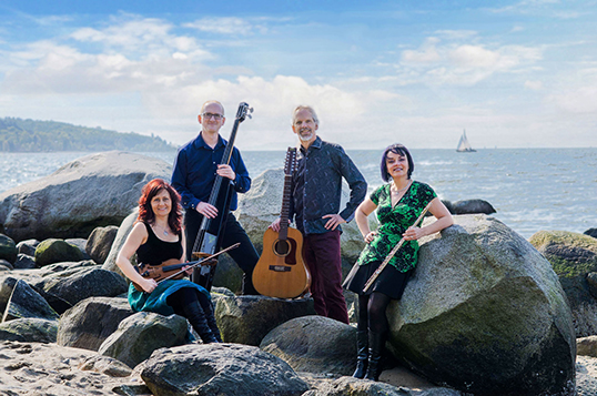 Celtic band Blackthorn will perform at Place des Arts Jan. 16.| Photo by Sue Renaud.
