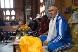 Lobsang Tenzin finds peace in Tibetan culture. | Photo courtesy of Wandering Eye