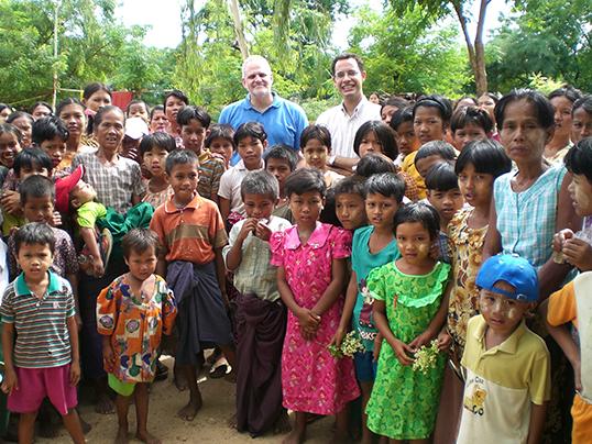 Matt Friedman in Burma | Photo courtesy of Matt Friedman