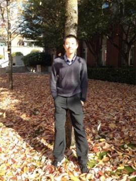 Zebang Wei, first graduate of SFU's Bachelor of Environment program | Photo courtesy of Zebang Wei