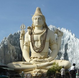 The god Shiva is widely regarded as the patron of yoga in Hinduism