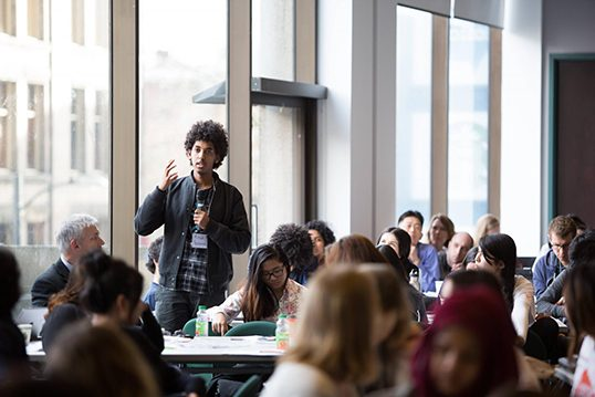 The conference presents an opportunity that is lacking in B.C.: for migrant youth to create change in their local community.    Photo courtesy of Vancouver Foundation