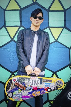 Jake Shimabukuro with his ukulele.| Photo courtesy of Jake Shimabukuro.