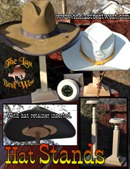 Hat Stand with hat stretcher