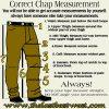 Correct chap measurement