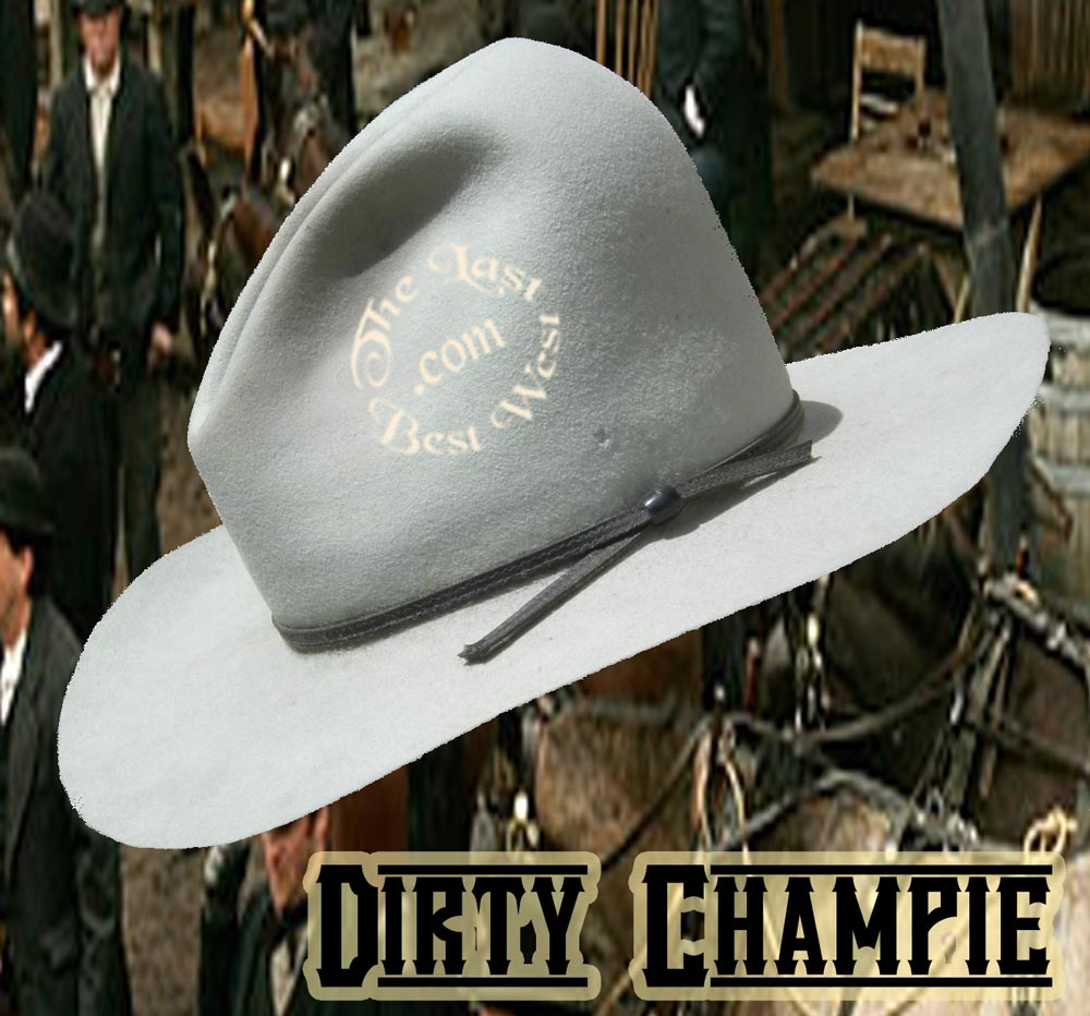 Working Champie Cowboy Hat