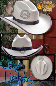 City Lights Custom Handmade Hat