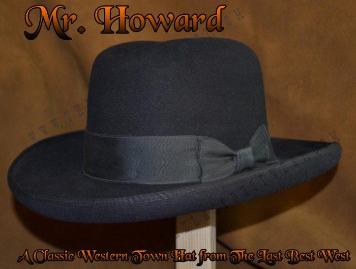Mister Howard Homburg Dress Hat