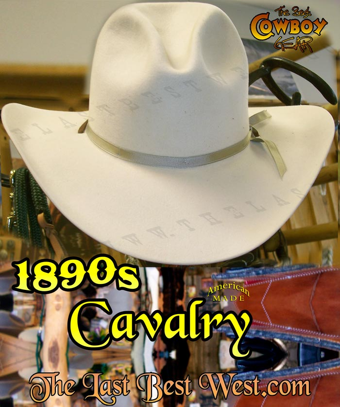 1890s Cavalry Hat - The Last Best West 3c65f2d3950